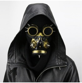 Steam Retro Windshield Gas Mask Cosplay Anime Prop Gift