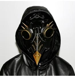 Steampunk Plague Rivet Beak-mask Halloween Props Gift