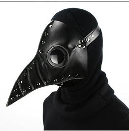 Halloween Plague Long Beak Doctor Prom Folding Mask Cosplay Prop Gift!