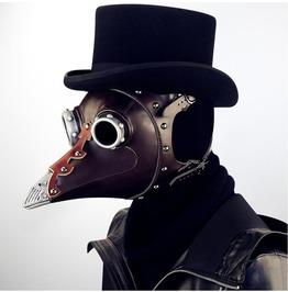 Steampunk Halloween Leather Nose Plague Nib Doctor Mask