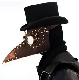 Steampunk Plague Beak Rivet Mask Halloween Props Gift