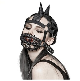 Steampunk Unisex Tied Leather Mask Cosplay Anime Mask