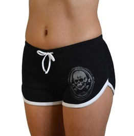 Summer Death or Glory Low Waist Stretch Workout Breathable Booty Short