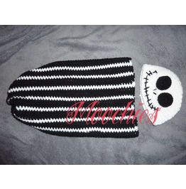 Jack Nightmare Christmas Crochet Baby Cocoon