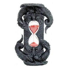 Double Dragon Grey Stone Gothic Sand Timer