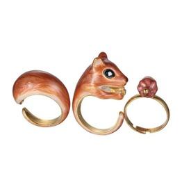 Squirrel Crane Or Deer Ring