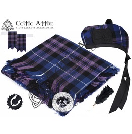 Pride of Scotland Tartan - 6 Pcs Kilt Accessories Package