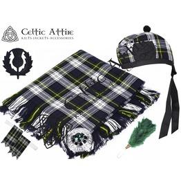 Dress Gordon Tartan - 6 Pcs Kilt Accessories Package