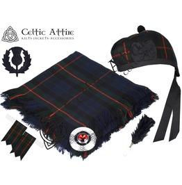 Gunn Tartan - 6 Pcs Kilt Accessories Package