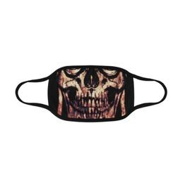 Grunge Skull Face Mask