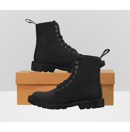 Black gents combat boots rebelsmarket