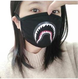 Shark Teeth Camouflage Facial Mask