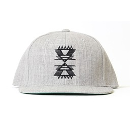 Trail Head Embroidery Snap Back Hat