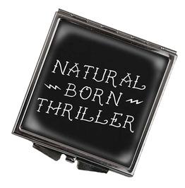 Natural Born Thriller Square Compact Mirror
