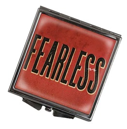 Fearless 2 in 1 Square Compact Mirror