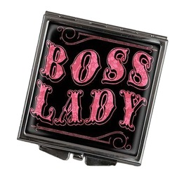 Boss Lady Square Compact Mirror