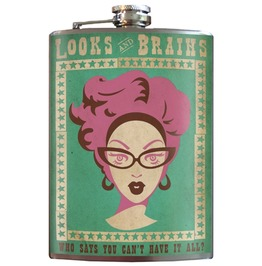 Looks & Brains Flask