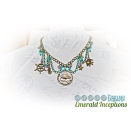 Steampunk Necklace Nautical Siren Dreams