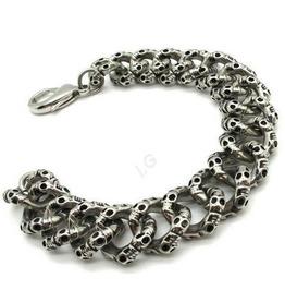 Links Skull Bracelet