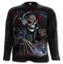 PC GAMER - Longsleeve T-Shirt Black (Plain)