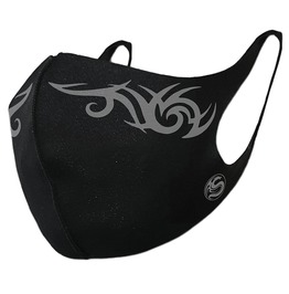 Punk Rock Tribal Print Reusable Clothing Face Mask