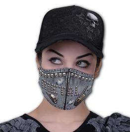 Thrash Print Reusable Clothing Face Mask