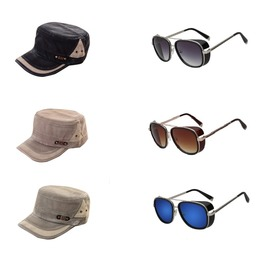 Great Summer Deal Set Promo! 1 Cap + 1 Sunglasses for ONLY $35.99