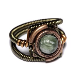 Steampunk Warehouse 13 Ring Seraphinite