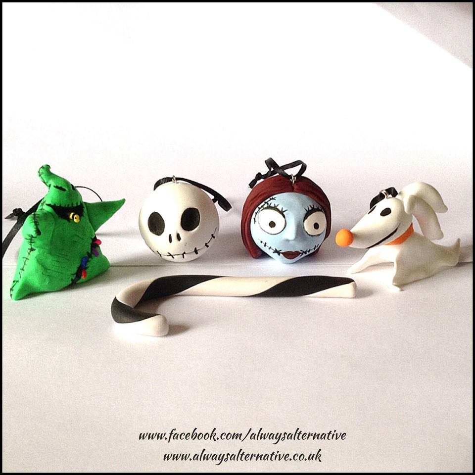 nightmare_before_christmas_inspired_hanging_decorations_home_decor_2 ...