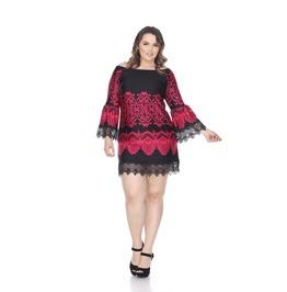 Boho 3/4 Sleeve Dress