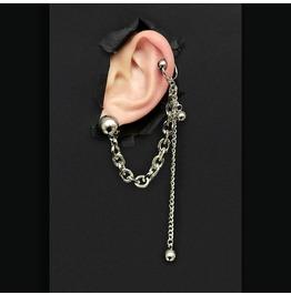 Dark Girl Earrings Chain Earrings Long Pendant Earrings