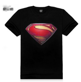 Personalized Rock Superman 3 D Print Men's T Shirt Tee