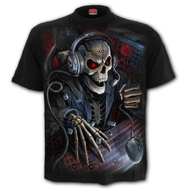 Pc Gamer Kids T Shirt Black