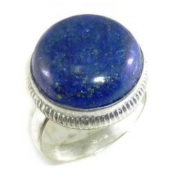 Striking! Lapis Lazuli & 925 Silver Ring