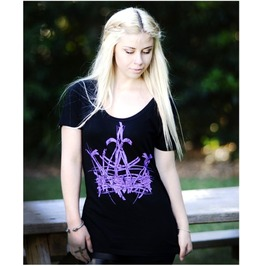 Crooked Head 'crown' Ladies Tee
