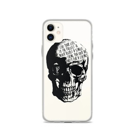 3D Skull Print IPhone Case