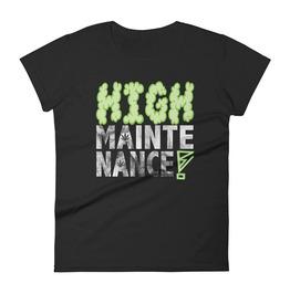 High Maintenance Black T-shirt