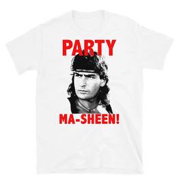 Party Masheen Graphic White Cotton T-shirt