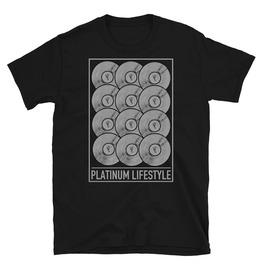 Platinum Lifestyle Graphic Black Cotton T-shirt