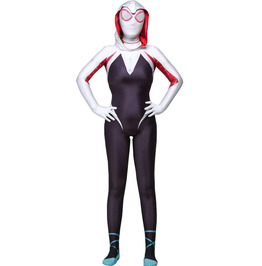 Gothic Spider Gwen Stacy 3D Print Party Costume