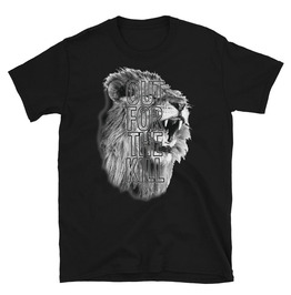 Out For The Kill Black Cotton T-shirt