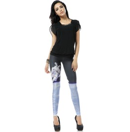 Cute Galaxy Sky Pattern Leggings