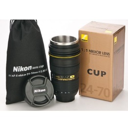 Coffee Cup Gift Af S Nikkor Thermos Camera Lens Mug