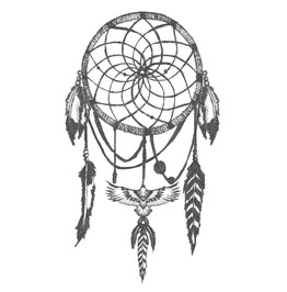 Dreamcatcher Temp Tattoo
