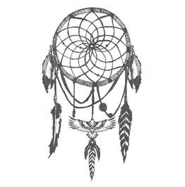 Dreamcatcher Temp Tattoo