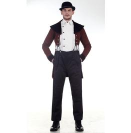 Steampunk Victorian Baker Tailcoat