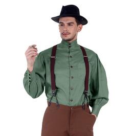 Steampunk Victorian Gothic Neo Seigneur Costume Gentlemen Shirt C1292
