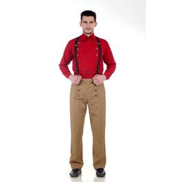 Steampunk Victorian Tussar Pants