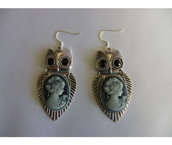 steampunk_camero_owl_2_pc_silver_earrings_earrings_2.jpg