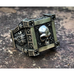 Vintage Men's Skull Ring